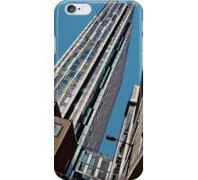 Urban canyon in the city iPhone Case/Skin