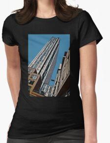 Urban canyon in the city Womens Fitted T-Shirt