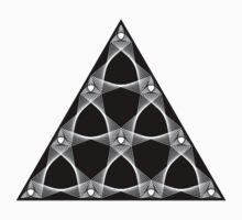 Tetractys Arcs One Piece - Long Sleeve