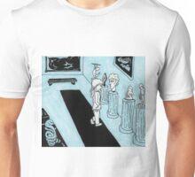 Solitude in Blue Unisex T-Shirt