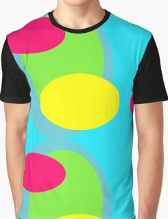 70s style pattern - neon Graphic T-Shirt
