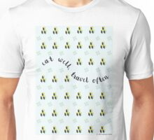 Eat well, Travel often Unisex T-Shirt