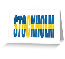 Stockholm. Greeting Card