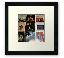 Vintage Records Collection 1E Framed Print