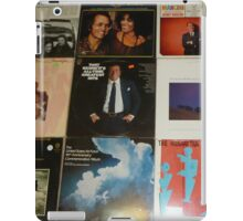 Vintage Records Collection 1E iPad Case/Skin