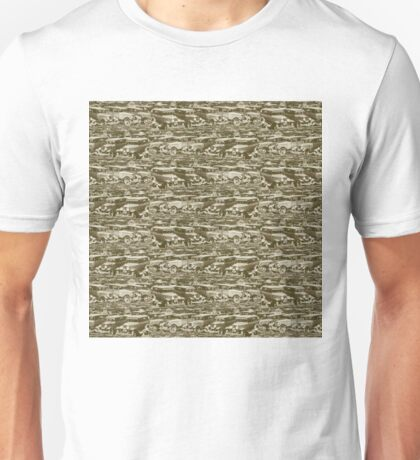 Dean's Parking Lot ~ Circa 1930 Unisex T-Shirt