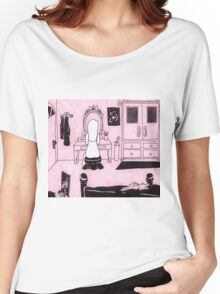 Solitude in Pink Women's Relaxed Fit T-Shirt