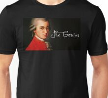 Mozart, the Genius Unisex T-Shirt