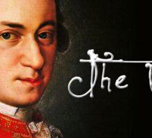 Mozart, the Genius Sticker