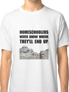 Homeschool Rushmore Classic T-Shirt