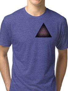 Tetractys - 90 Circle - Diamond Tri-blend T-Shirt