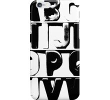 There In Black and White iPhone Case/Skin