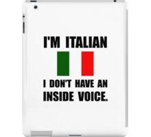 Italian Inside Voice iPad Case/Skin
