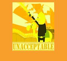 Unacceptable war Unisex T-Shirt