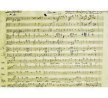 Dies Irae Mozart Photographic Print
