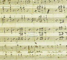Dies Irae Mozart Sticker