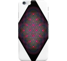 Tetractys - 144 Circle - Diamond iPhone Case/Skin