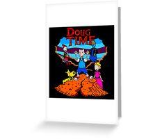 Doug Time Tintin Greeting Card