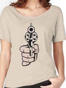 Roy Lichtenstein - Pistol Women's Relaxed Fit T-Shirt