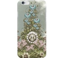 cynical white flower iPhone Case/Skin