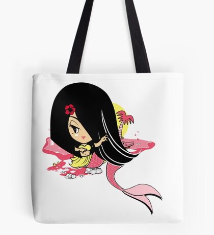 Hana On Beach Tote Bag