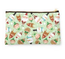 Christmas Crew - Green - Scattered Studio Pouch