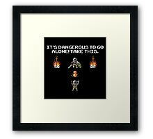 The Legend of Souls Framed Print