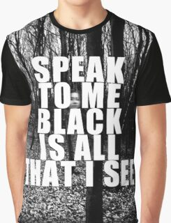 Asking Alexandria Lyrics The Black Graphic T-Shirt