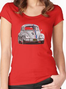 Best of Herbie Women's Fitted Scoop T-Shirt