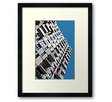 High rise city living Framed Print