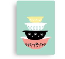 Pyrex Pretties Canvas Print