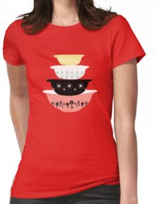 Pyrex Pretties Womens Fitted T-Shirt