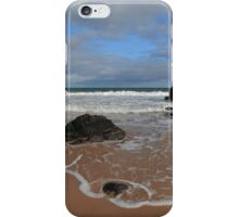 Watching The Waves on Sango Bay iPhone Case/Skin