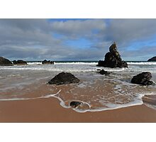 Watching The Waves on Sango Bay Photographic Print
