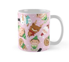 Christmas Crew - Pink - Scattered Mug