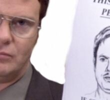 The Office- This man is a PERVERT Sticker