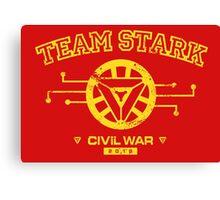 Civil War: Team Stark Canvas Print