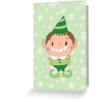 Christmas Crew - Elf - Scattered Greeting Card