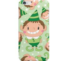 Christmas Crew - Elf - Scattered iPhone Case/Skin