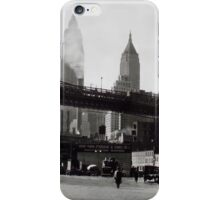 New York Vintage picture iPhone Case/Skin