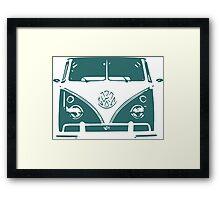 VW Green Framed Print