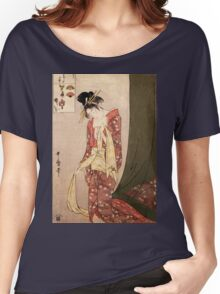 Reproduction Vintage Japanese painting  Women's Relaxed Fit T-Shirt