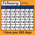 Everyday is St. Valentine's day by telberry