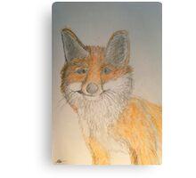 Nora's fox Canvas Print