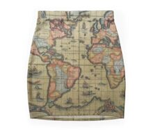 Been Around The World And I Mini Skirt