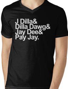 J Dilla - Won't Do Print Mens V-Neck T-Shirt