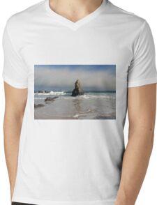 Incoming Tide on Sango Bay Mens V-Neck T-Shirt