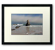 Incoming Tide on Sango Bay Framed Print