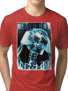 skull-skeleton-xray-photo Tri-blend T-Shirt