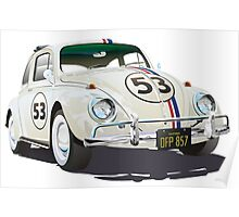 Herbie The Beetle Poster